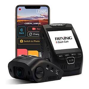 Rexing V1 - 4K Ultra HD Car Dash Cam